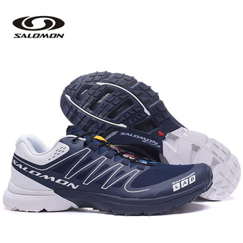 Original Salomon S LAB SENSE Men's Shoes Outdoor Jogging Sneakers Lace Up Athletic Salomon Speed Cross 15 Running Shoes salomon юбка женская salomon sense размер 46 48