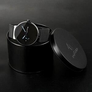 Image 5 - BOBO BIRD montre bracelet pour hommes, Ultra mince, personnalisée, affichage de la Date, texte gravé, en acier inoxydable