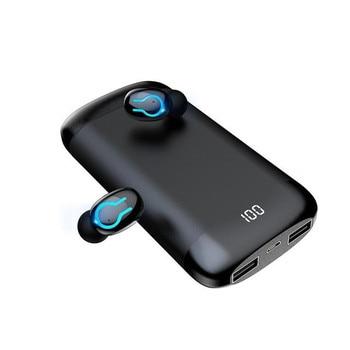 Portable Listen Wireless Bluetooth Earbuds Earpods Bluetooth Headset Headphones for A Mobile Phone Q66 TWS Bluetooth Earphones 2