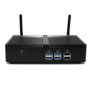 Image 2 - Topton Fanless Mini PC Intel i5 7200U i3 7100U Alumimun Alloy Dustyproof Household Mini Computer HDMI, VGA, LAN, 6 USB 300M WiFi