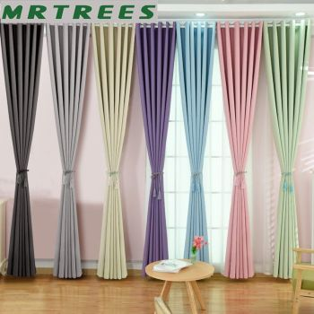 Modern Blackout Curtains For Living Room Window Curtains For Bedroom Finished Fabrics Drapes blinds Customized modern blackout curtains for living room bedroom yellow curtains for window curtains drapes treatment finished blinds custom