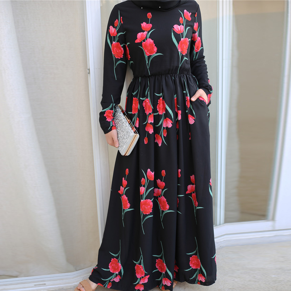 Plus Size Abaya Muslim Dress Turkey Islamic Clothing Hijab Dresses Caftan Kaftan Moroccan Ramadan Tesettur Elbise Robe Vestidos