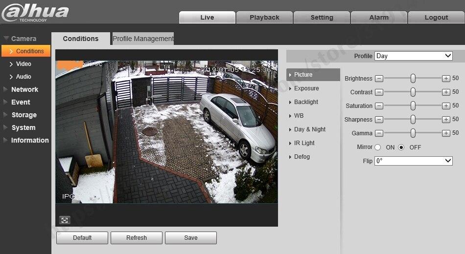 Hdeaa05b418764b698ed6f0e22d32a7e5R Dahua IPC-HDW4631C-A 6MP HD POE Network Mini Dome IP Camera Metal Case Built-in MIC CCTV Camera 30M IR Night Vision Dahua IK10