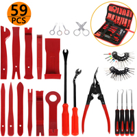Hand Tool Set Car Oil Seal Screwdrivers Set O-Ring Seal Gasket Puller Remover Pick Hooks Tools Car Vehicle Radio Removal Tool