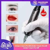 Permanent Makeup Machine Rotary Tattoo Gun Pen Eyebrow Lips Tattoo Machine Pen Device Set Accessories for Tattoo