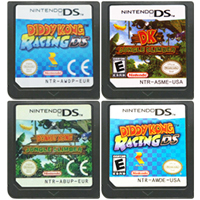 Image 1 - DS משחק מחסנית קונסולת כרטיס דידי קונג ראסינג DK Jungle מטפס אנגלית שפה עבור Nintendo DS 3DS 2DS