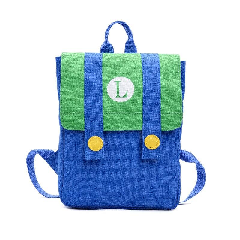 Super Mario Backpack Baby Toddle Kids Bag Baby Boy Girl Children Cute Cartoon Character Monster Kids Small School Bag