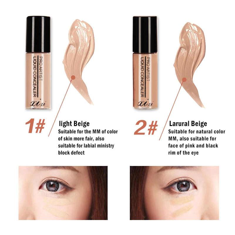 Xixi cosméticos maquiagem rosto fundação capa olho escuro círculo manchas corretivo vara kosmetyki corrector base fundação tslm1