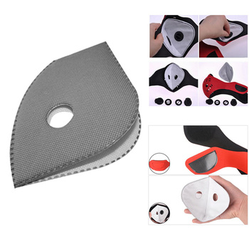 2020 Hot Selling Cycling anti-smog mask liner Removable mask lining Activated carbon mask accessory filter Gasket