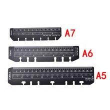 Черный a5 a6 a76 отверстий спираль аксессуары для планировщика
