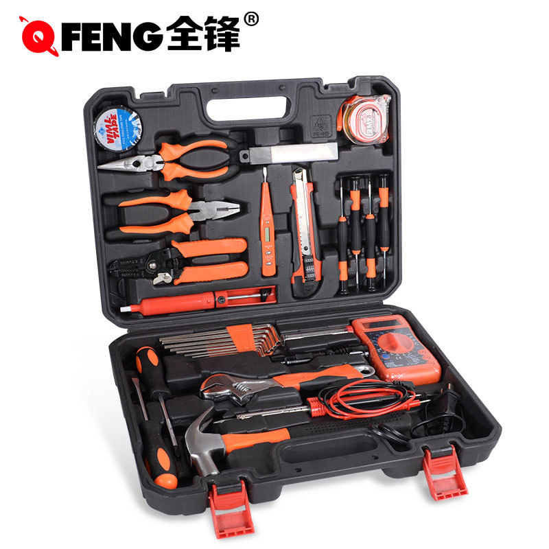Electrician Plastic Tool Box Hardware Wrench Multifunction Portable Tool Box Professional Boite A Outils Home Repair DE50GJX
