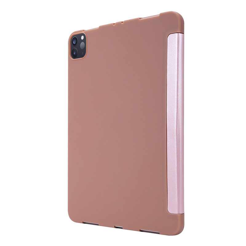 11 Cover 2020 for iPad iPad Protective PU Case for Back Leather Soft Case Pro Silicone