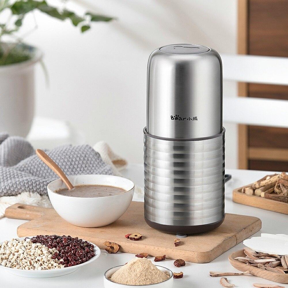 Portable Mini Electric Blenders Stainless Steel Dry Grinding Machine Grinders Mixers Millers Coffee Maker Machine