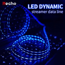 2m Micro USB Type C Cable LED Flowing An