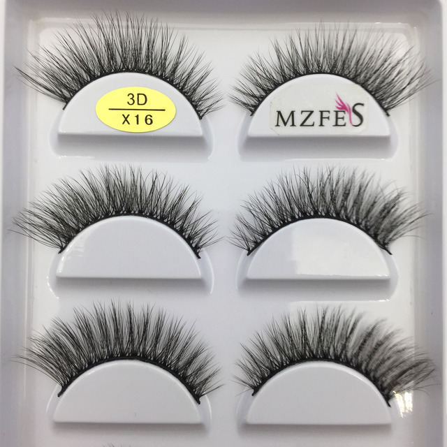 33 Style 10/50/100 Boxes 5 Pairs Natural 3D Mink False Eyelashes Makeup Fake Eye Lashes Faux Cils Make Up Beauty Tools Wholesale 6