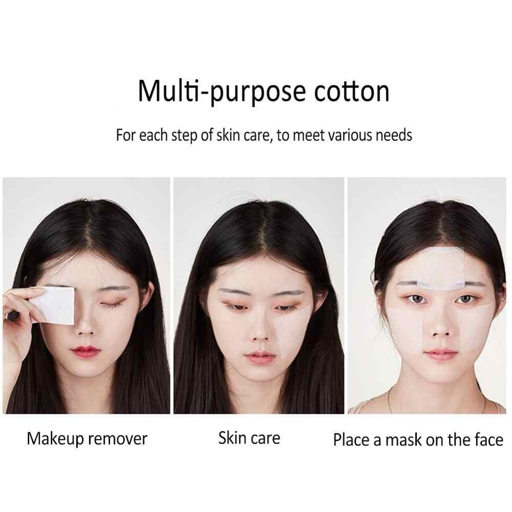1100 ピース/バッグ韓国顔有機綿パッド顔クリーニングマニキュアリムーバー化粧ティッシュメイク美容スキンケアツール