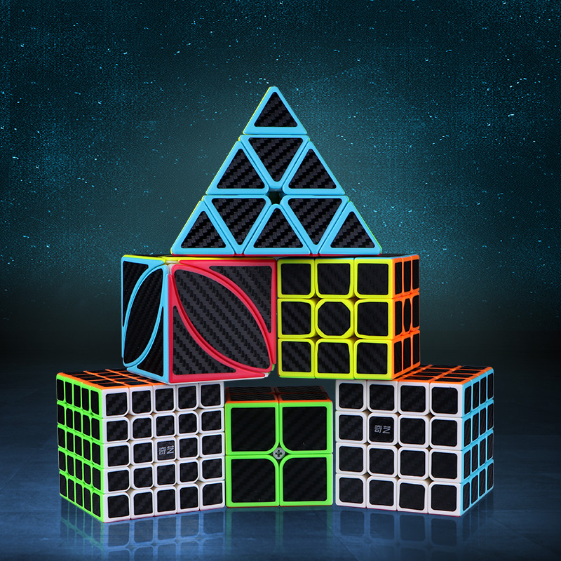 3x3x3 4x4x4 5x5x5 Professional Speed Cube Puzzles Cubo Magico Learning Toys Stickerless Magical Cube Antistress Toys For Adults