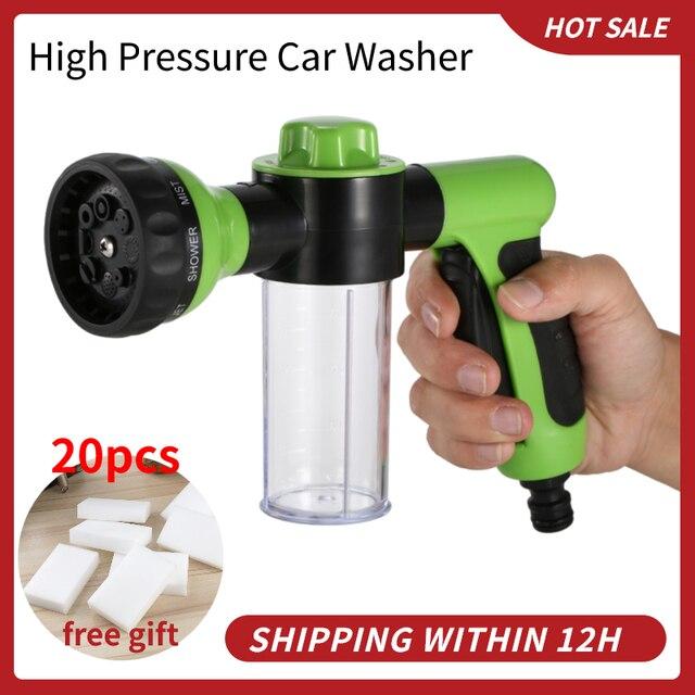Pistolet à mousse de lavage de voiture Portable, à haute pression, pour véhicules, Pot à mousse, outils de lavage pour Automobiles
