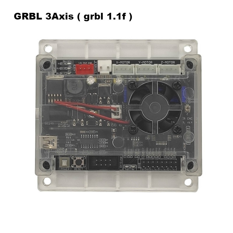 3 achsen GRBL 1.1f CNC Laser Control System Router/Laser Engraver Control Board Offline controller USB Port Controller Karte