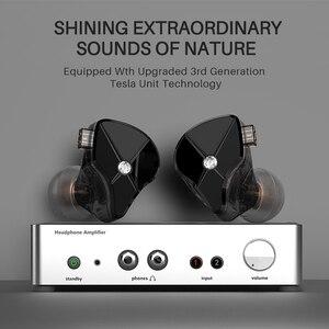 Image 2 - De Geurige Citer Tfz Queen Ltd 2Pin Interface Metal In Ear Monitor Hifi Koptelefoon 3.5Mm Sport Muziek Dynamische Oortelefoon s2 S7