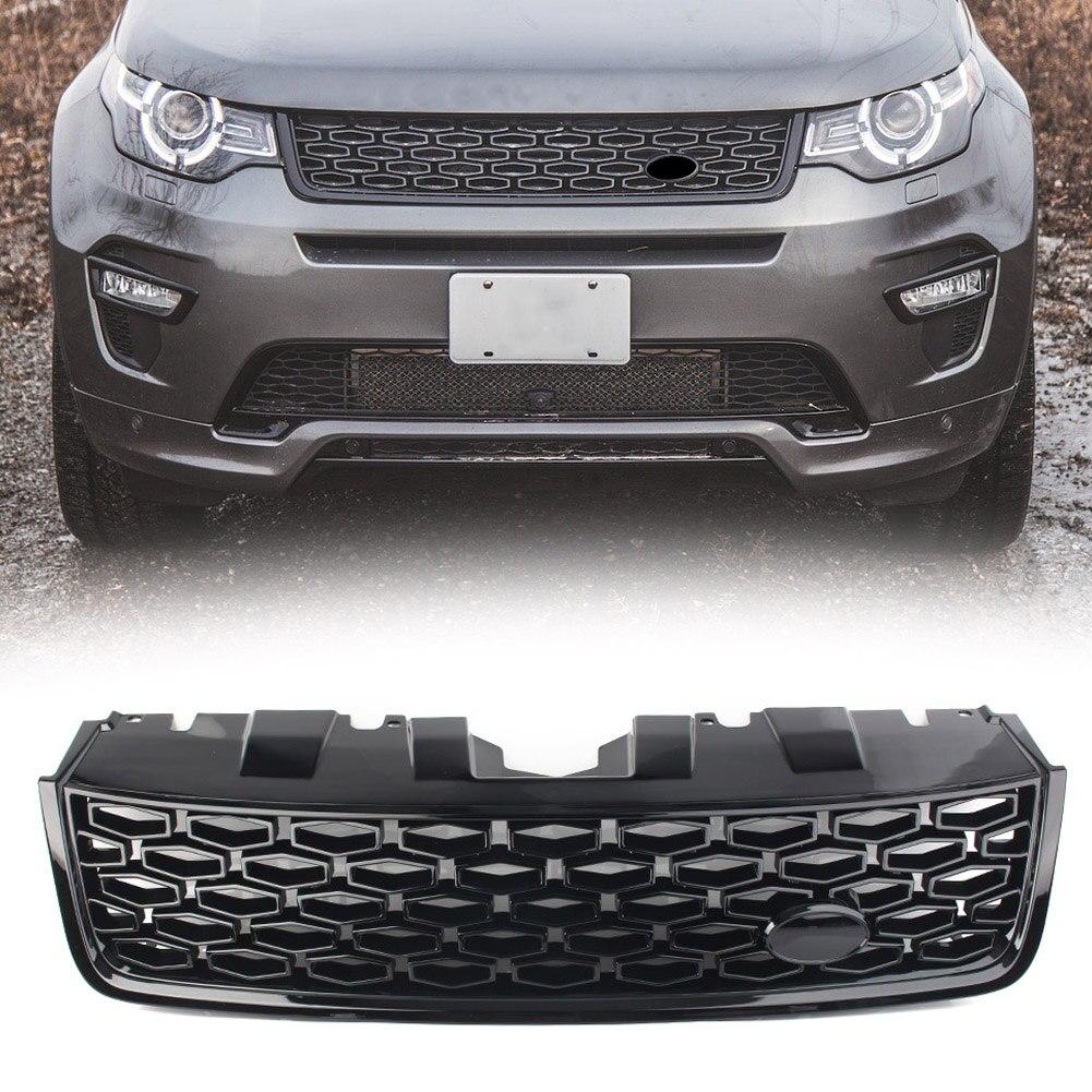 Передняя решетка автомобиля, верхняя решетка ABS для Land Rover, спортивная версия L550 LR066143 2015 2016 2017 2018 DSB с логотипом