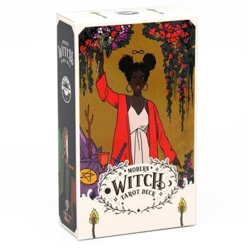The Modern Witch Tarot Deck Guidebook Card Table Card Game Magical Fate Divination Card 1