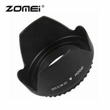 ZOMEI Professional 49mm 52mm 55mm 58mm 62mm 67mm 72mm 77mm 82mm Lens Hood Mount Flower Shape For Canon Hood Lens Camera
