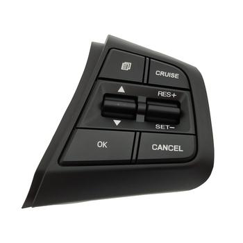 Dla Hyundai Creta Ix25 2 0L kierownicy tempomat przycisk sterowania przełącznik pilota sterowania przycisk głośności 96710C90004X tanie i dobre opinie Direct Wind 96710C90104X ABS and Metal Cruise Control Buttons Steering Wheel Control Switch For Hyundai Creta ix25 2 0L