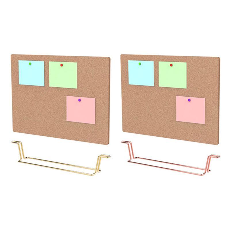 Natural Message Cork Board Environmentally Memo Pinboard Notice Display Supply PXPA