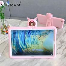 Soft Silicone Stand Cute Case for Huawei MediaPad M3 Lite 8.0 Tablet Cases Animal Pattern Kid Cover for CPN-L09 CPN-W09 CPN-AL00 цена 2017