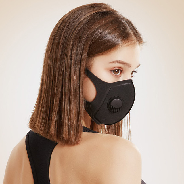 1PC korean Anti Dust Mask PM2.5 Activated Filter Mouth Mask Reusable Cover Anti Fog Haze Respirator Windproof bacteria proof Flu 3