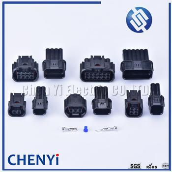 1set 2/3/4/8/12 pin car waterproof auto connector LED headlight speaker plug sensor connectors For Honda Civic Odyssey XRV VEZEL image