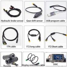 Câbles Ebike pour moteur central Bafang BBSHD BBS02 BBS01 capteur de frein hydraulique de vélo électrique et capteur de changement de vitesse