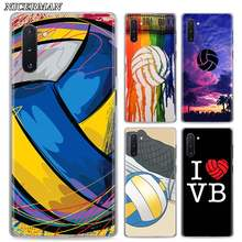 Phone Case for Samsung Galaxy Note 8 9 10+ 10 Plus S10 S20 A50 A70 51 A71 5G Cover keep calm play Volleyball Cases Shell(China)