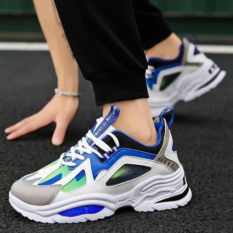 2019 Outdoor Athletic Light Running Shoes Sports Breathable Soft Sneakers Comfort Fitness Jogging models Men mountain Footwears