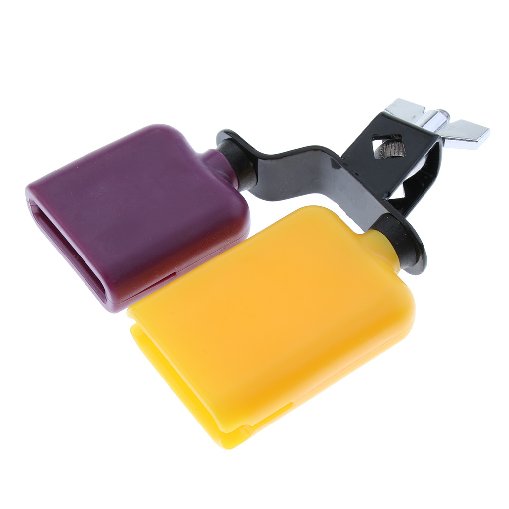 ABS Cowbell Drum Percussion Musical Accessory For Drum Players Lovers Gift