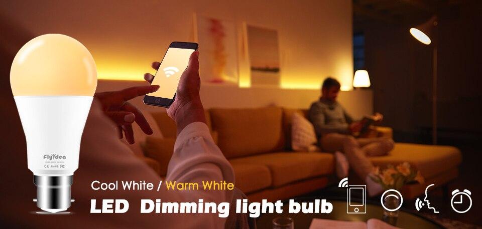 controle remoto casa inteligente lâmpada ac 85-265