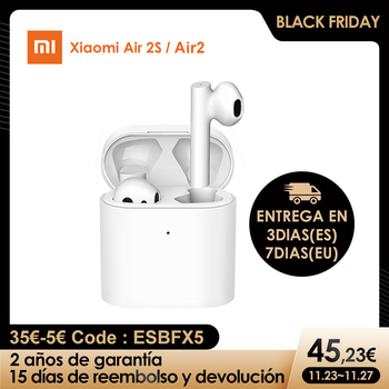 Xiaomi Air 2S TWS xiaomiAirdots Pro 2 TWS Bluetooth Headset 2 Mi True Wireless Earphone 2 LHDC Tap Control Dual MIC ENC