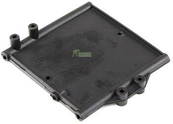 Caja de batería placa de montaje fijo para 1/8 HPI Racing Savage flujo XL Rovan TORLAND Monster Piezas de camiones sin escobillas