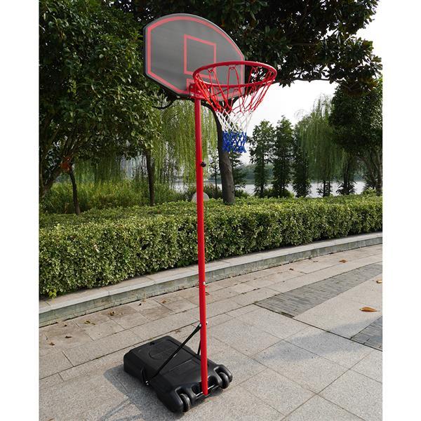2.18m adolescent extérieur panier de basket-ball Portable amovible réglable panier de basket-ball pour rue plage communautés écoles
