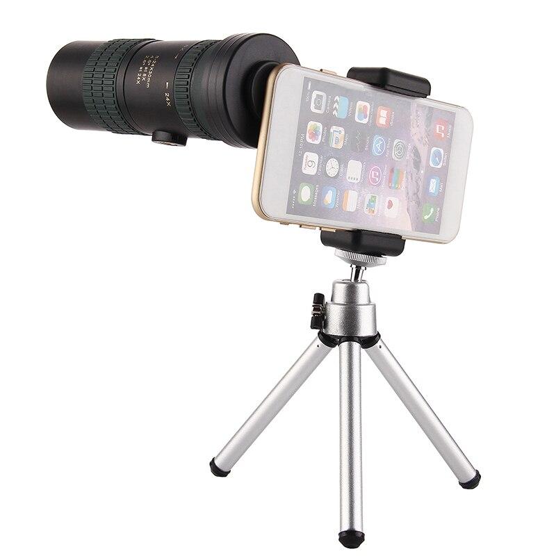 Original Binoculars 8-24x30 Zoom Monocular High Quality Telescope Pocket Binoculo Hunting Optical Prism Scope No Tripod