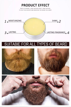 Wax Balm After Shave Cream Beard Growth Paste TSLM1