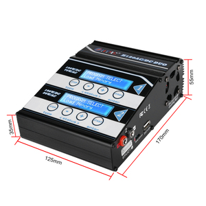 Image 5 - HTRC H120 10A Battery Charger AC DC Dual Ports Discharger For Lilon/LiPo/LiFe/LiHV/NiCd/NiMH/PB Battery RC Balance Charger