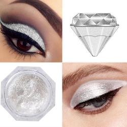 6 цветов Алмазные перламутровые жидкие тени для век Сияющие и красочные жидкие тени для век Крем натуральный матовый макияж