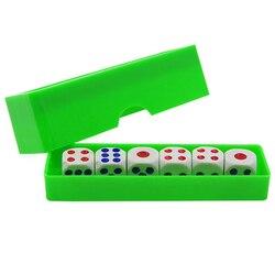 Previsão dicas truques de magia seis morrer flash mudança close-up gimmick brinquedo para crianças novo