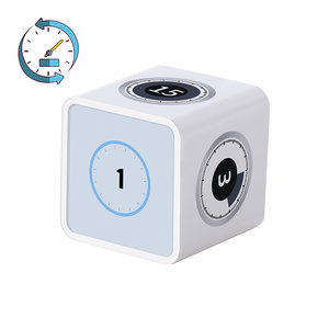 AMINNO Timecube Timer Kitchen Cube Timer Rechargeable Stylish Mini Rubik timer 1-100 Minutes time management, Built-in gyroscope(China)