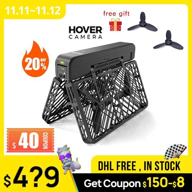 Hover Camera 2 hover 2 Dron autovolador con pasaporte 4k, vídeo 1080P, seguimiento automático, 13MP, evitación de obstáculos de 360 grados, pk dji