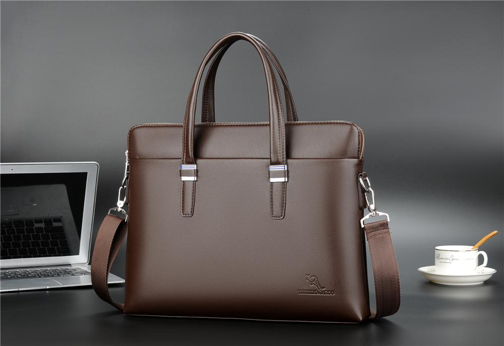 YICIYA Fashion Shoulder Bag Men Briefcase A4 PU Leather Men Bags Business Laptop Tote Luxury Brand Male Briefcases Handbags