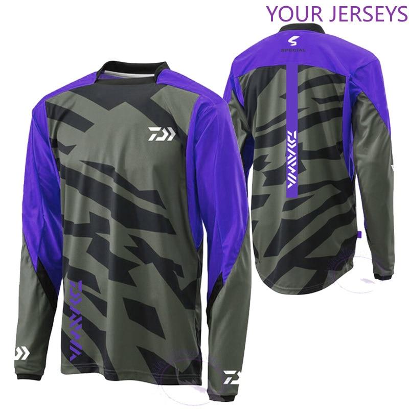 2020 Daiwa Cycling Fishing Jerseys Anti-mosquito Fishing Clothing Long Sleeve Anti-UV Autumn Shirt Quick Dry Fishing Sportswear