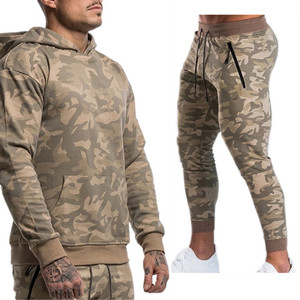 Image 2 - Mens Sports Suits Male Set Jogging Clothing Ropa De Marca Chandal Casual Hoodie Set Camouflage Big Pocket Cotton Dresy Tracksuit